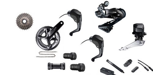 Shimano Dura-Ace  R9160 Di2 Time Trial Groupset (less calipers)