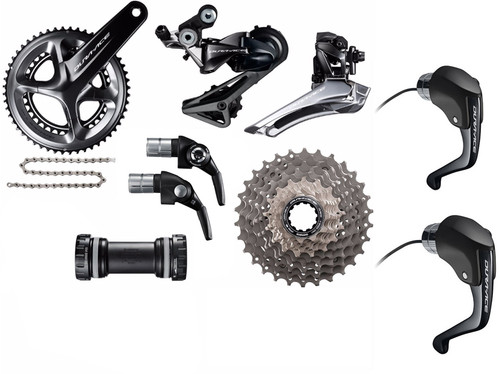 Shimano Dura-Ace  R9160 STI Time Trial Groupset (less calipers)