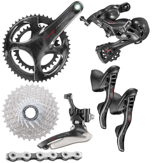 Campagnolo  Super Record Ergo 12 Speed Groupset (less calipers)