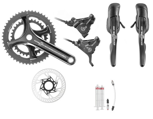 Campagnolo Potenza Hydraulic Flat Mount Ergo 11 Speed Conversion Kit | Daily Deal