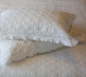 Cotton Comforter Set - Ivory - KING Size - Vintage Style Boho