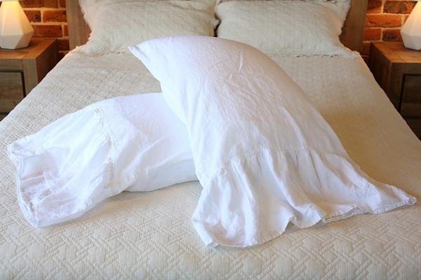 Yummy Linen Mermaid Tail Pillow Slips