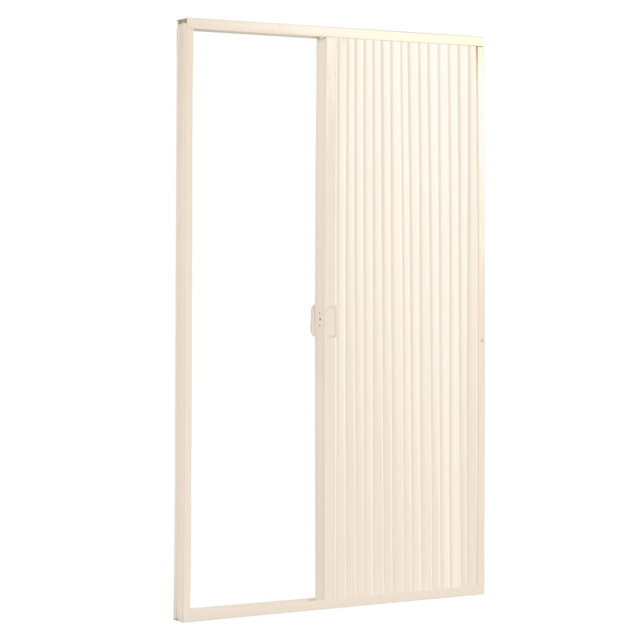 RV Shower Doors ...  sc 1 st  RecPro & Pleated Folding RV Shower Doors Ivory - RecPro