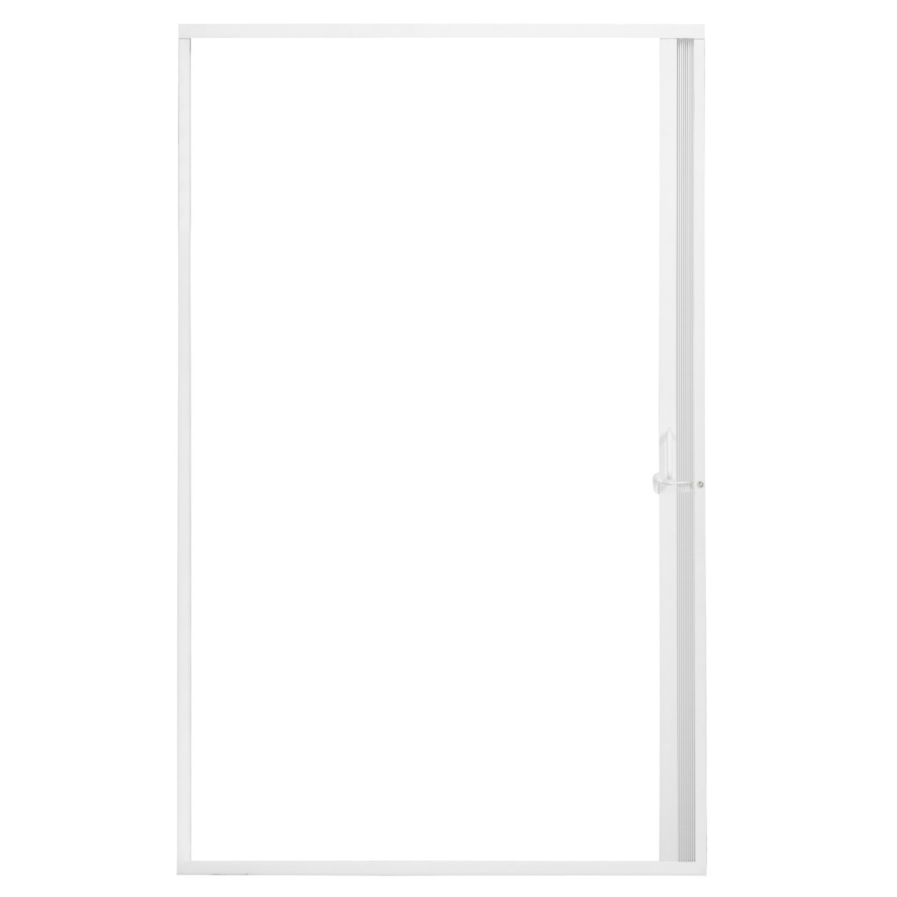 Pleated Folding Rv Shower Doors White Recpro