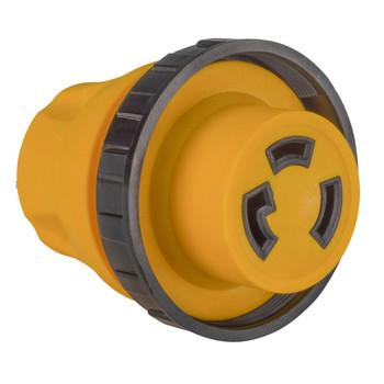 RV Power Cord Adapter 15 Amp Male to 30 Amp Twist Lock Female