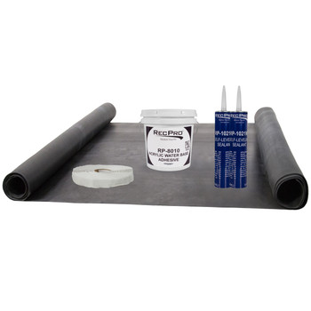 RV Rubber Roof Kit