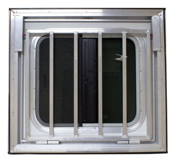 Horse Trailer Drop Down Feeder Windows