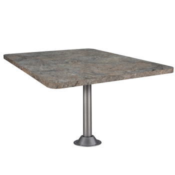 """Laminate Dinette Table For RV's 42"""" X 30"""" With Optional Leg/s"""
