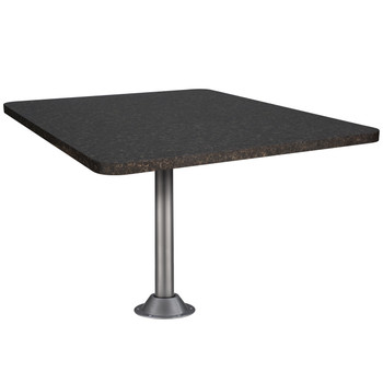 "Laminate Dinette Table For RV's 44"" X 30"" With Optional Table Leg/s"