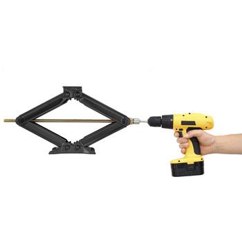 """3/4"""" Hex Cordless Drill Attachment for Scissor Jacks"""