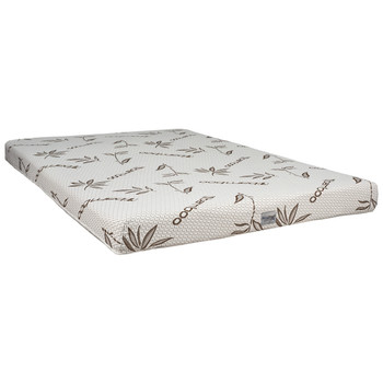 """6"""" RV Mattress Gel Infused with Bamboo Ticking Bunk Mat"""