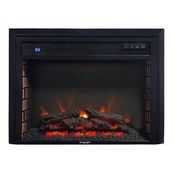 """26"""" Electric RV Fireplace Flat Glass on"""