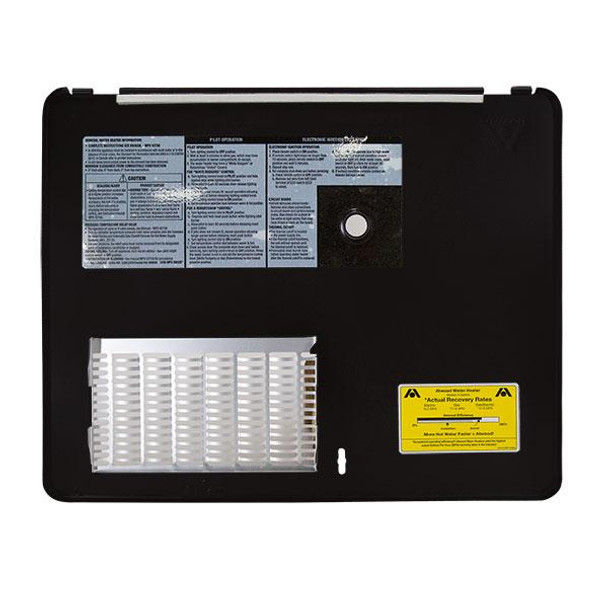 ... Atwood RV Hot Water Heater Door 6 Gallon Black  sc 1 st  RecPro & Atwood RV Hot Water Heater Door 6 Gallon Black - RecPro
