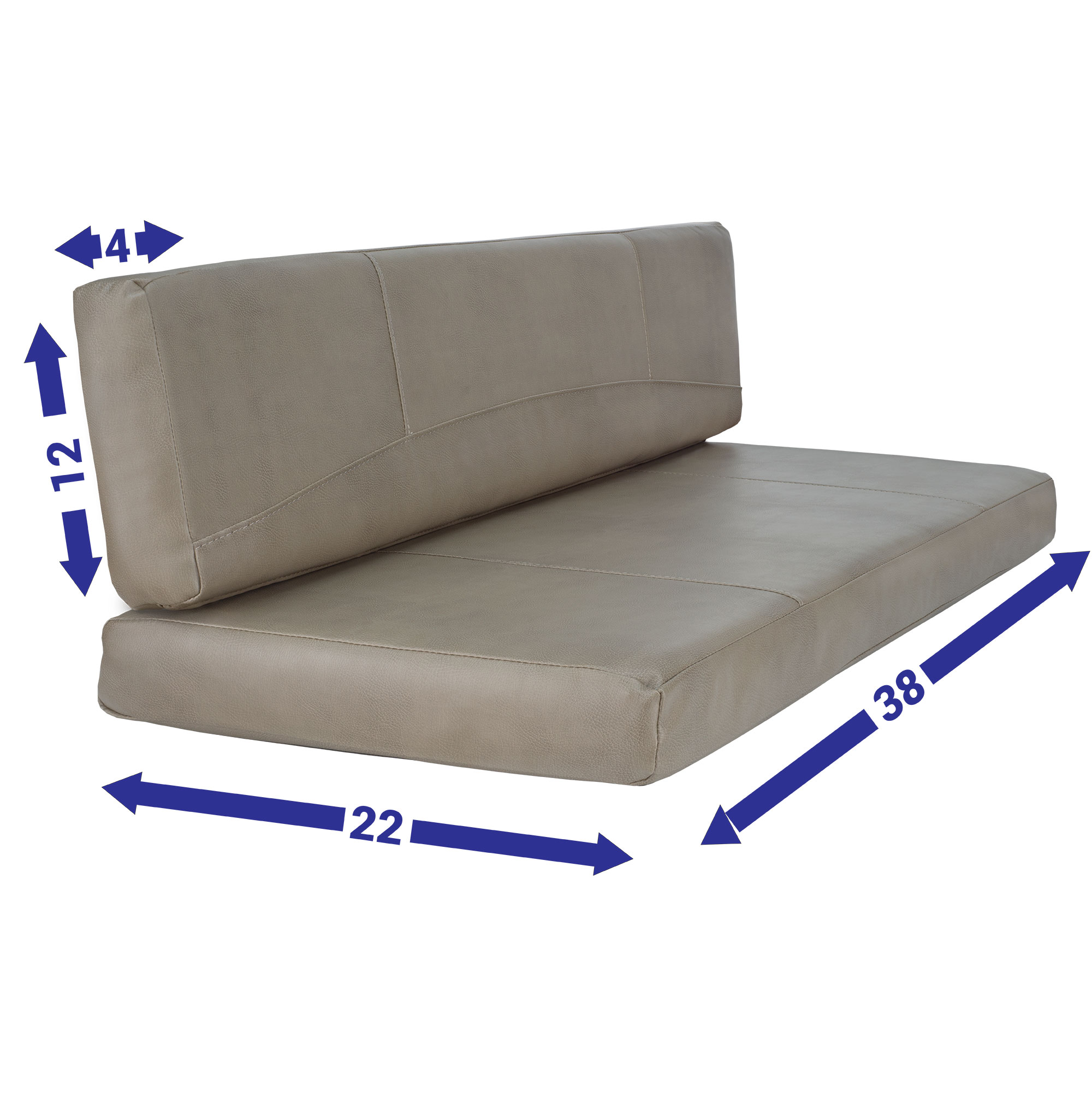 RV Dinette Cushion