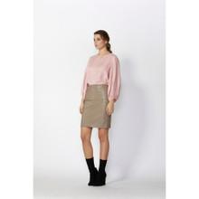 Women's Skirts Australia | Harlem Leather Mini Skirt | FATE + BECKER