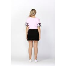 Ladies Skirts   Jetsetter Double Hem Skirt   SASS
