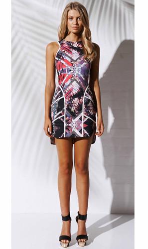 Metro Fit Amp Flare Dress By Bebe Ladies Dresses Online