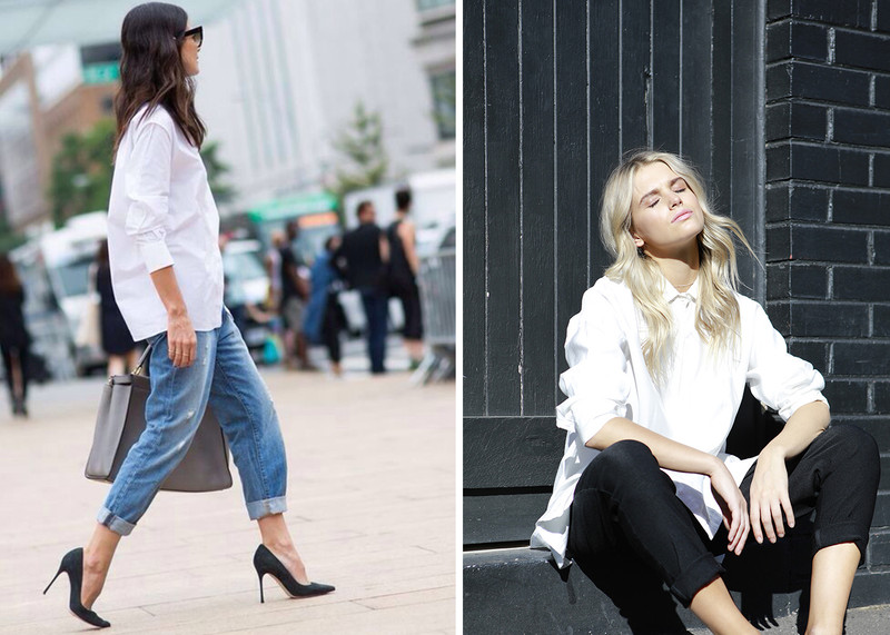How To Wear The Classic White Shirt