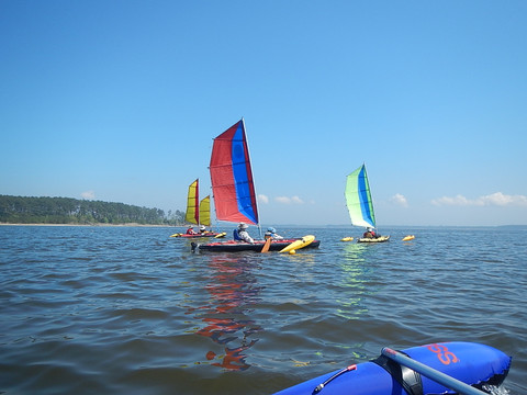 Sails Angels Cupsuptic Lake 2018