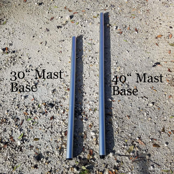 Extreme Lower Mast Section