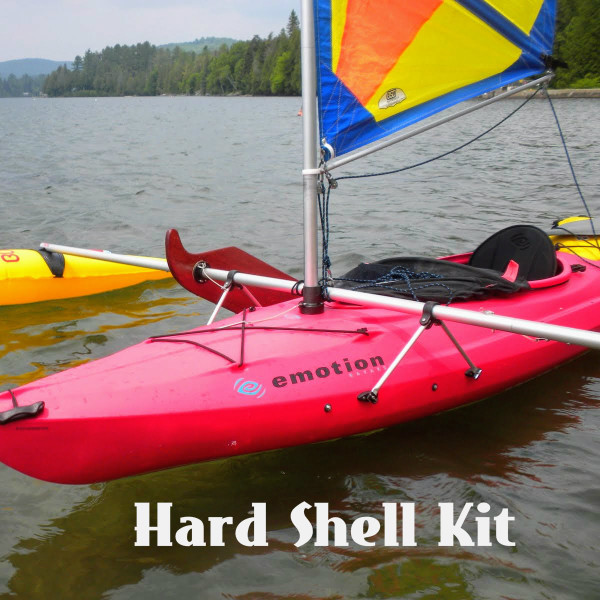 BSD makes the best performance kayak sailing rig on the market