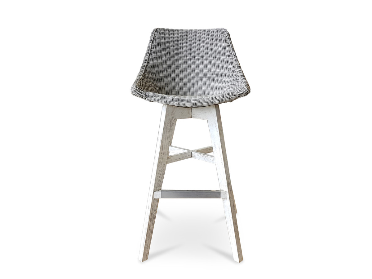 Obi Outdoor Synthetic Wicker Bar Stool For Sale In Auckland Nz