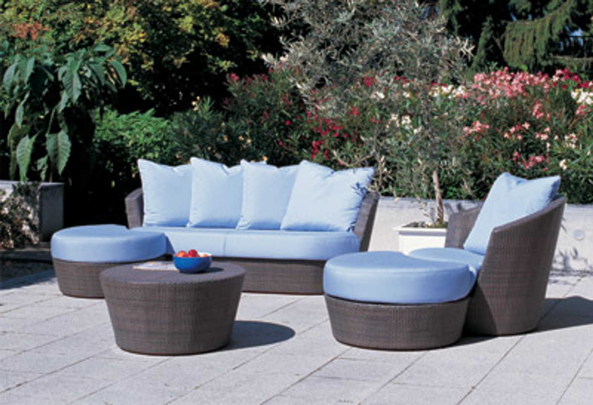 Outdoor Lounge Suite Sofa Set By Rauch Classics Eden
