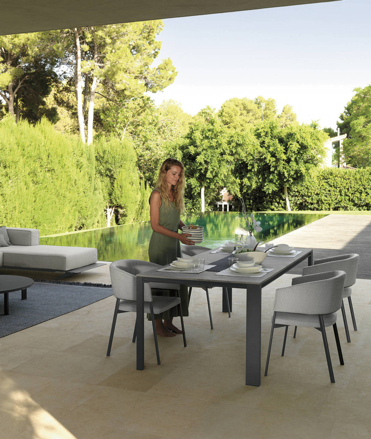 Chairs available by special order only · Eden Outdoor ... - Eden Outdoor Aluminium Dining Table For Sale In Auckland NZ