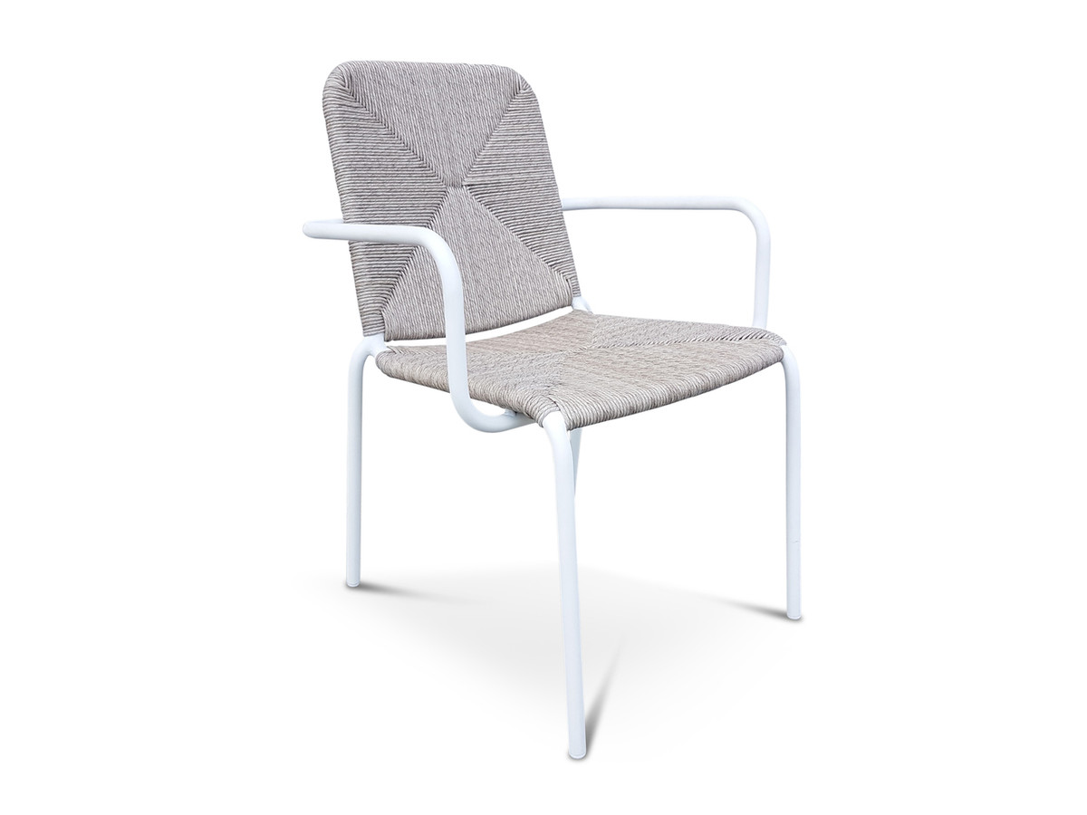 calvin wicker stacking arm chair for sale in auckland nz