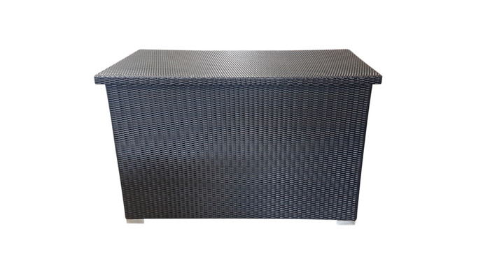 standard size shown in dark espresso synthetic wicker