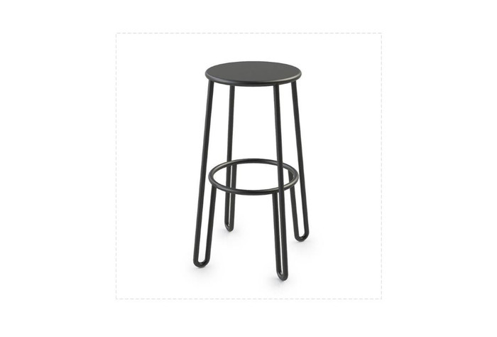 Maiori low height bar stool 65cm for use on low bar tables and counter tops. Outdoor durable.