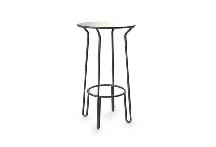 "Maiori huggy bar table. Novel ""no edges"" styling. Classic French !"