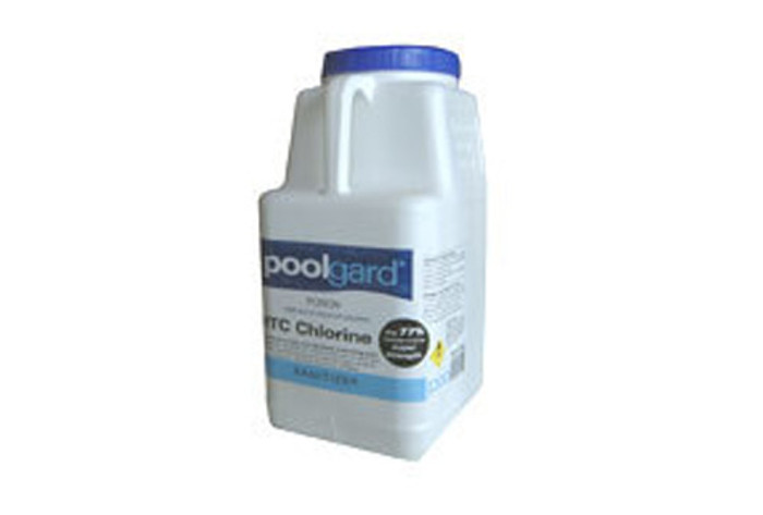 poolgard HTC chlorine