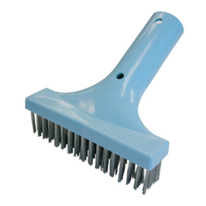 "pool stainless steel 7"" brush"