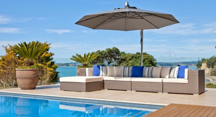 Horizon sidepost patio umbrella