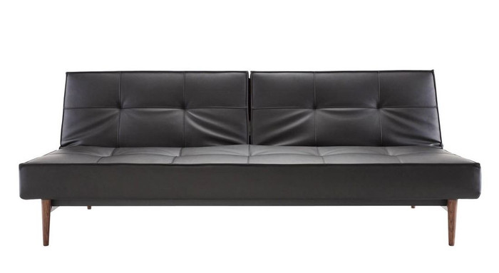 Splitback Sofa Bed (Oak legs) By Innovation