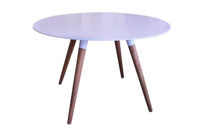 Sky Solid surface outdoor table 1.2m dia x0.76