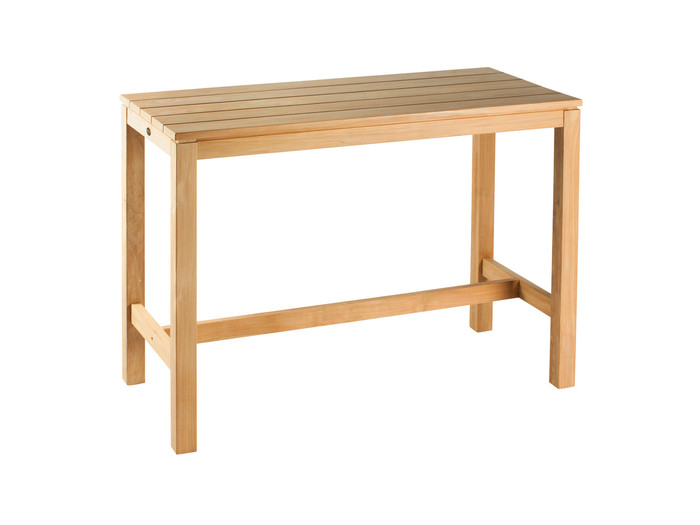 Devon Haast Teak Outdoor Bar Table 1500 Rectangle