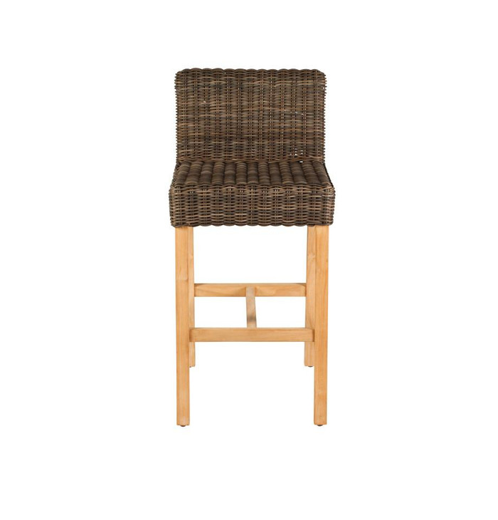 Devon Outdoor Hamner Bar Chairs Teak