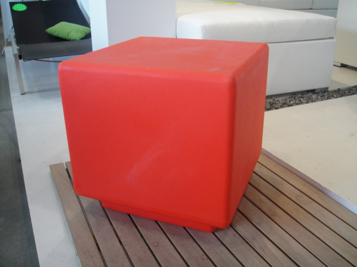 Le Funk square stool (available in 11 colours)