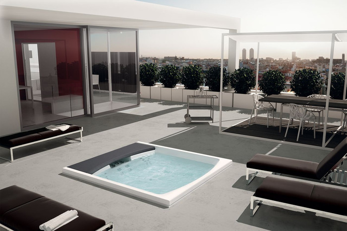 Hydrospa Seaside 641. Configurations starting from...