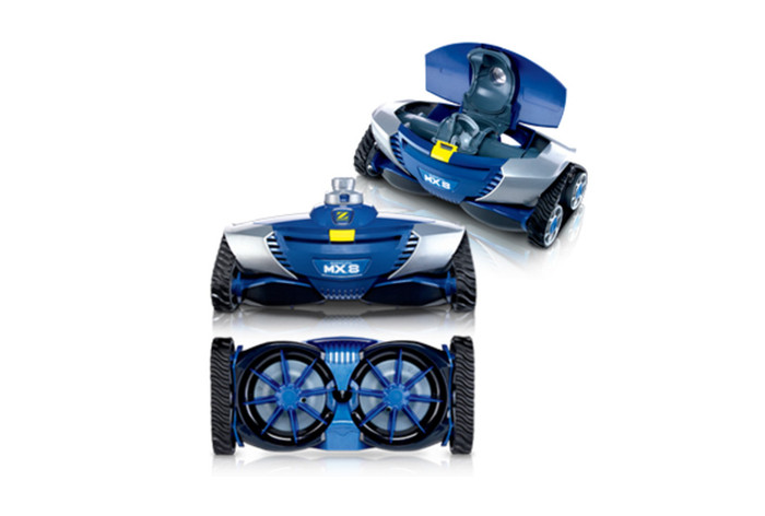 Baracuda pool cleaner - MX8 suction side, reversing