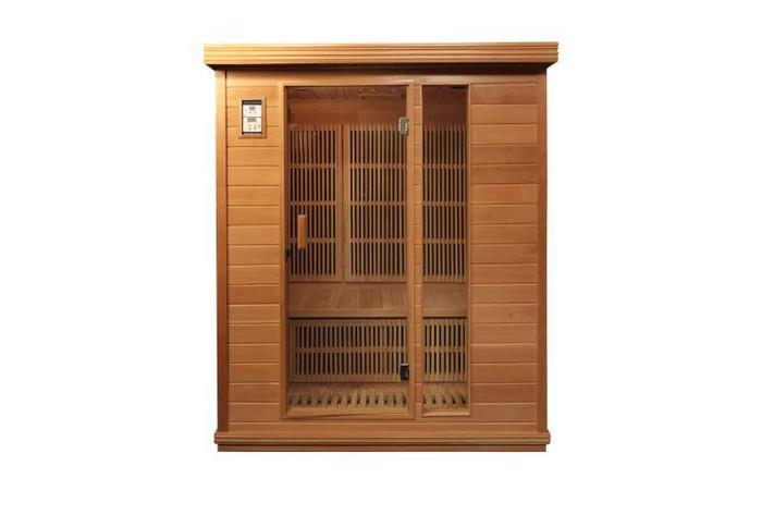 360 carbon FAR infrared sauna model Del Ray 3 person