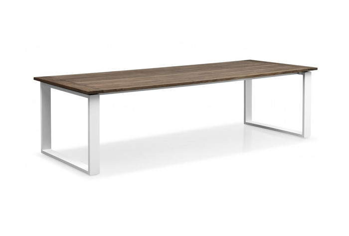 Messina outdoor dining table 220x92 coffee