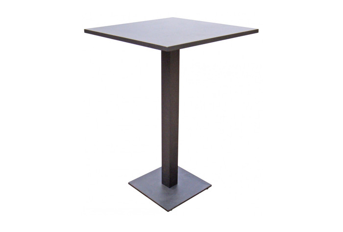 Iris outdoor bar table Iris 70x70 white or coffee