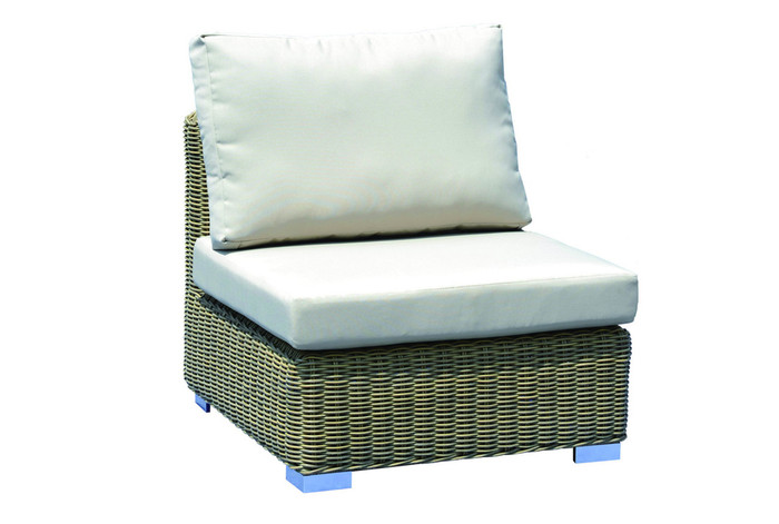 Andes modular single outdoor sofa