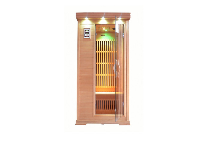 360 carbon Low EMF FAR infrared sauna model Minime 1 person