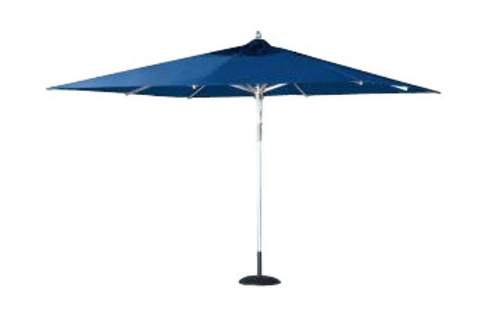 Umbrella Aluminium 3m x 3m Square Comm  - Tiri by Point