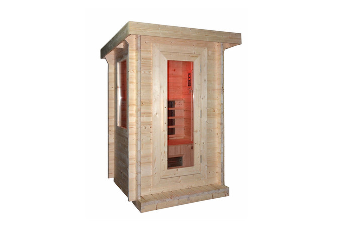 2 person outdoor FAR infrared sauna model Miami
