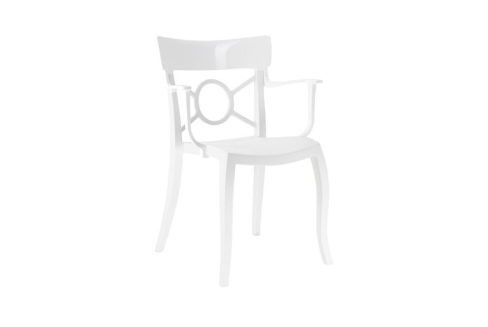 Opera K outdoor plastic arm chair - various colours
